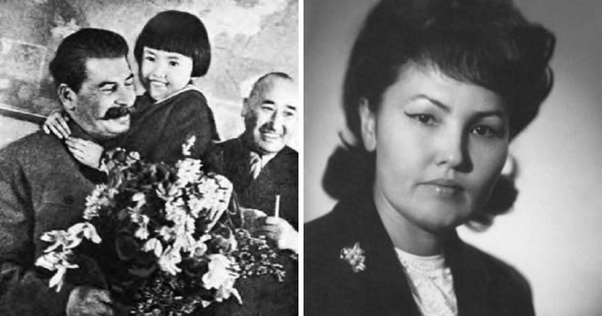 «Сталин и Геля». История девочки, сфотографировавшейся со Сталиным