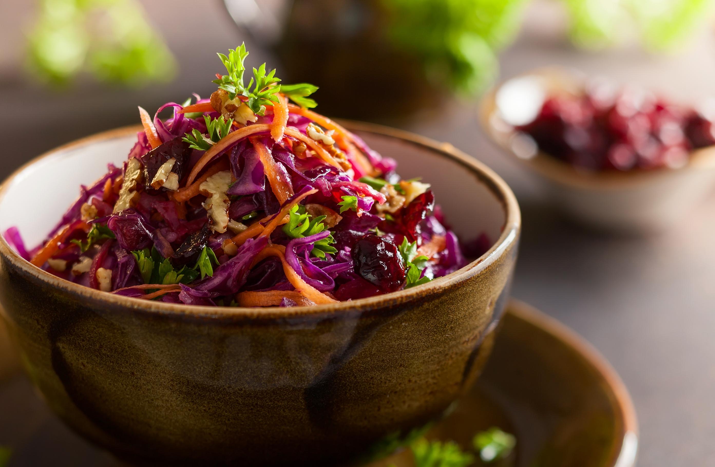 Салат из краснокочанной капусты «Витаминка»