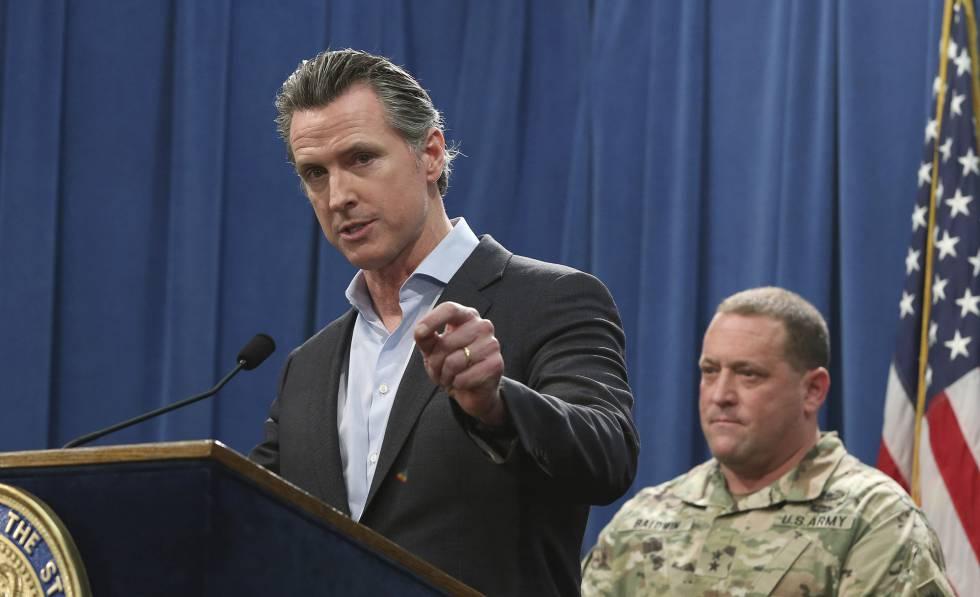 Photo of California retira de la frontera las tropas que envió a petición de Trump