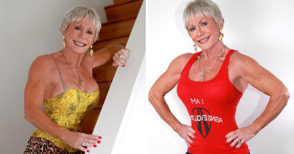 """Фото """"Качай железо"""": как выглядит самая пожилая культуристка в мире"""