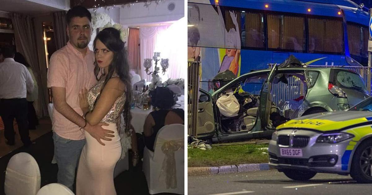 Будущая мать и ее молодой муж погибли в результате полицейский погони