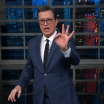 Best of Late Night: Stephen Colbert Would Like to See the Government Do Something