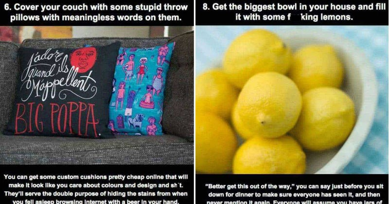 Photo of 15 Tips To Make Your House Look Like A Big Stupid Grown-Up Lives In There