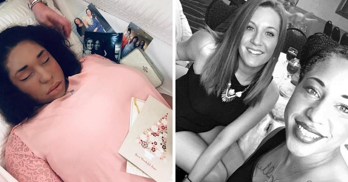 Спустя 10 месяцев: девушка выложила в Сеть фото с похорон своей сестры