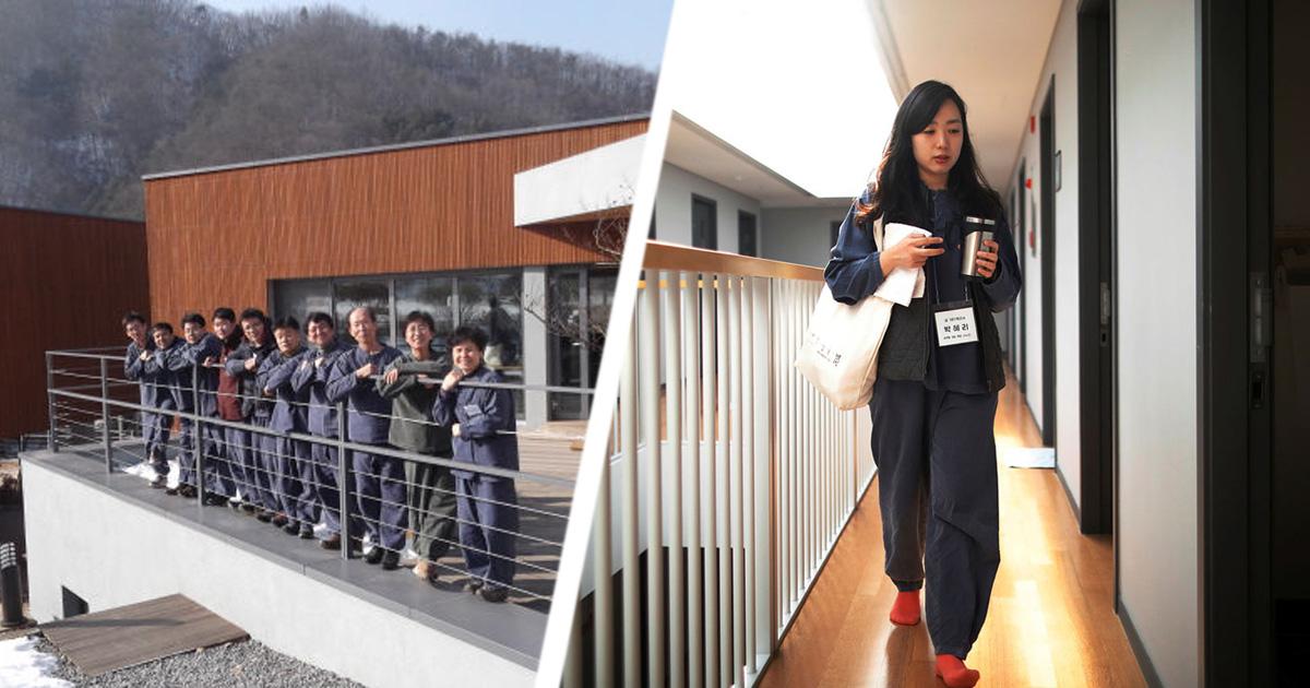 """Фото Добровольная тюрьма: работники Южной Кореи становятся """"заключенными"""""""