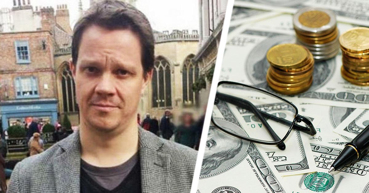 Британец жалуется на все подряд и зарабатывает на этом огромные деньги