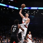Trail Blazers 113, Nets 99: Enes Kanter Makes Big Return to New York as Trail Blazers Beat Nets