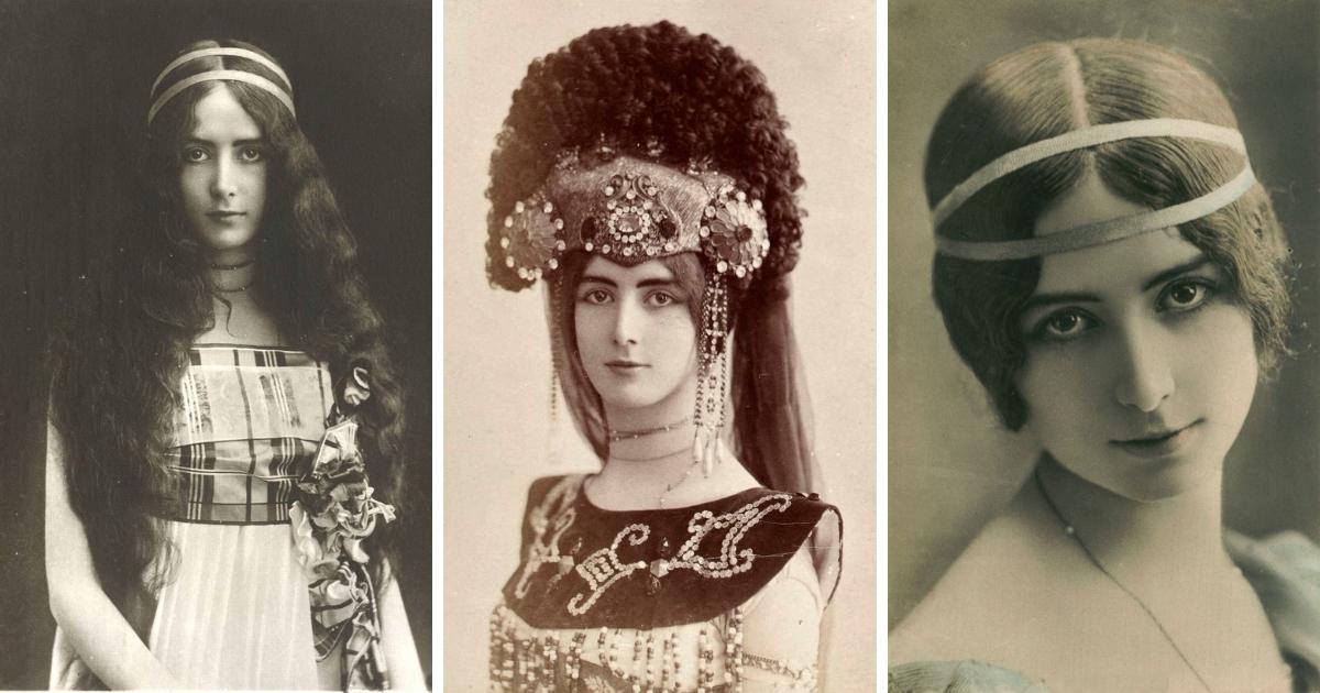 Фото История Клеопатры Дианы де Мерод - самой красивой женщины 20 века