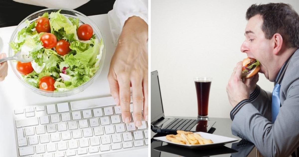 Обед в контейнере: как правильно питаться офисному работнику?