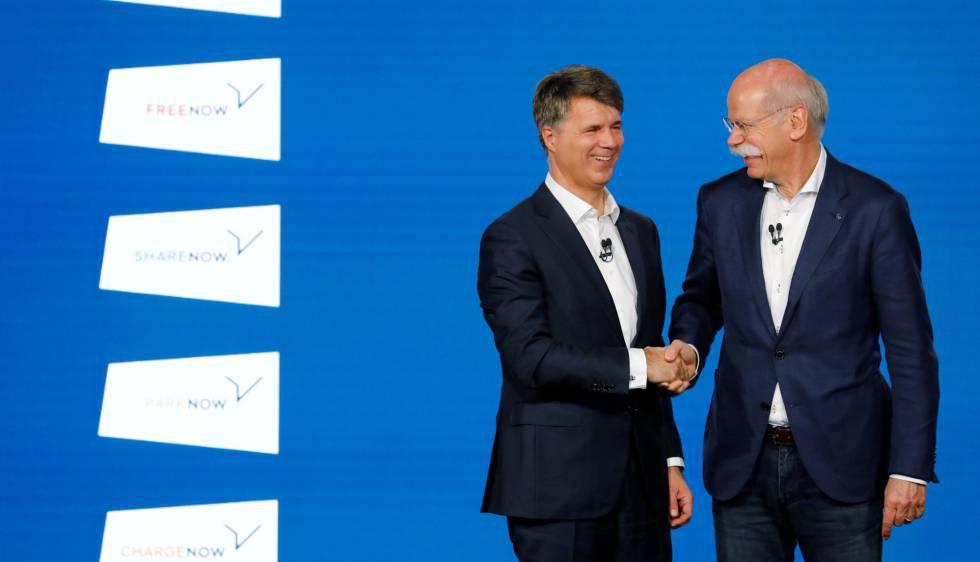 Photo of Mercedes y BMW invertirán 1.000 millones para competir con Uber y el coche compartido