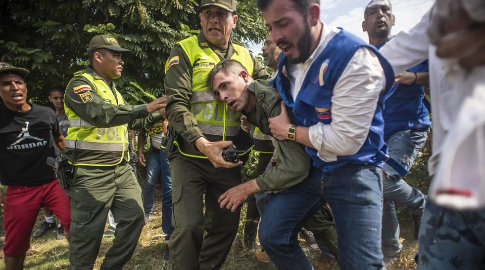 Photo of Tres sargentos venezolanos animan desde Brasil a sus compañeros a desertar