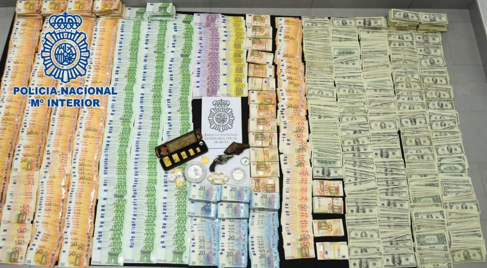 Photo of Cinco detenidos por usar una casa de cambio de moneda de la Base de Rota para blanquear