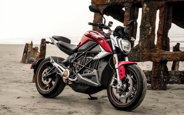 Photo of Zero Motorcycles SR/F electric bike gets faster and more connected
