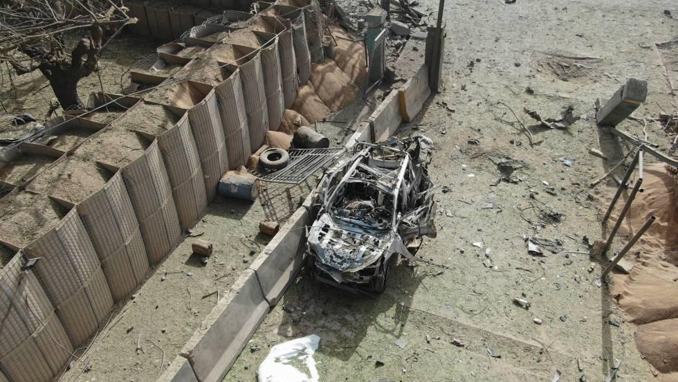 """Photo of """"Si el coche bomba logra entrar en la base, habría sido una catástrofe"""""""