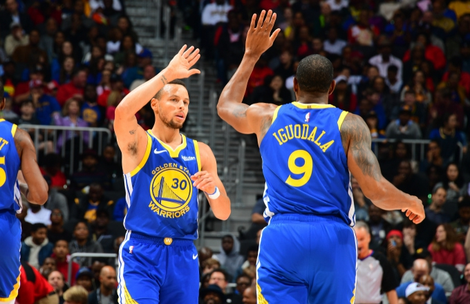 Photo of Andre Iguodala Thinks Steph Curry Is the 'Second-Best Point Guard Ever'