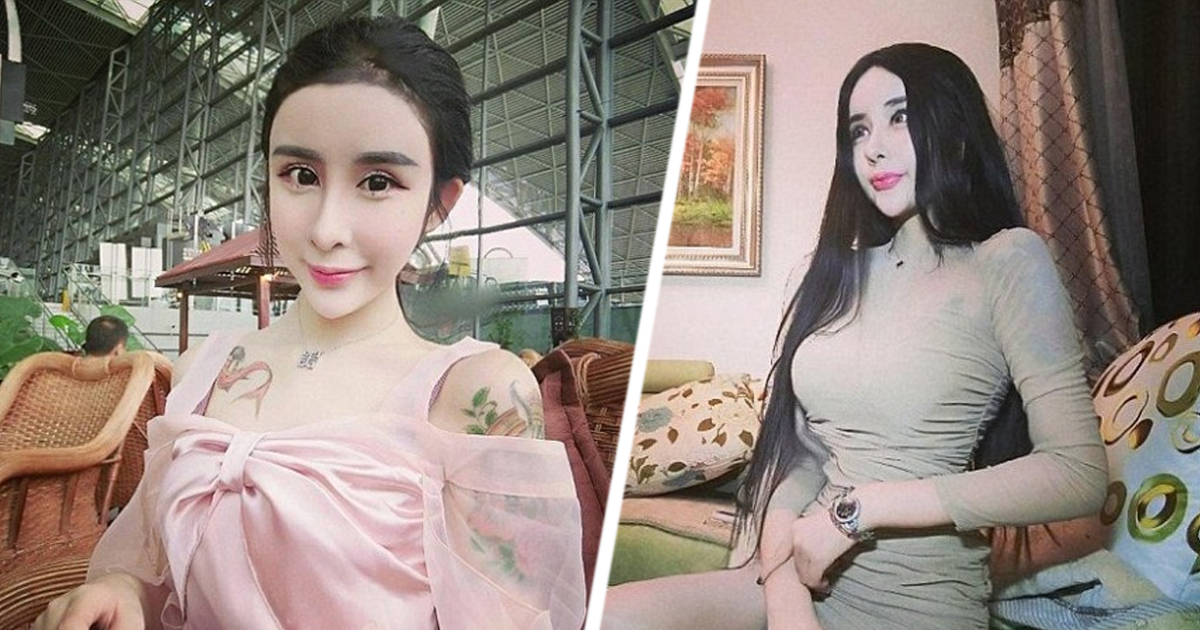 Фото 15-летняя китаянка сделала пластическую операцию, чтобы вернуть бывшего