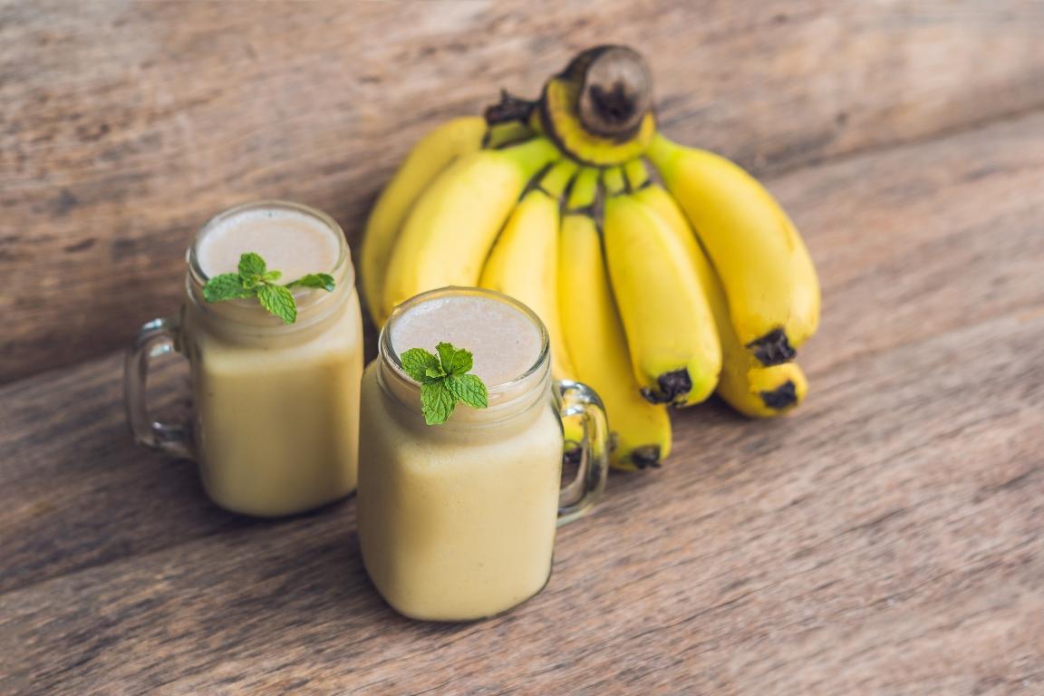 Рецепт приготовления смузи из груши и банана
