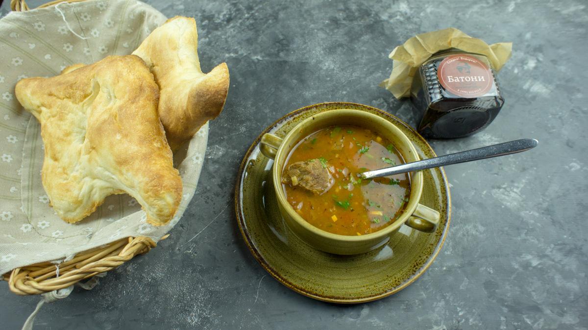 """Суп Харчо от ресторана """"Батони"""""""