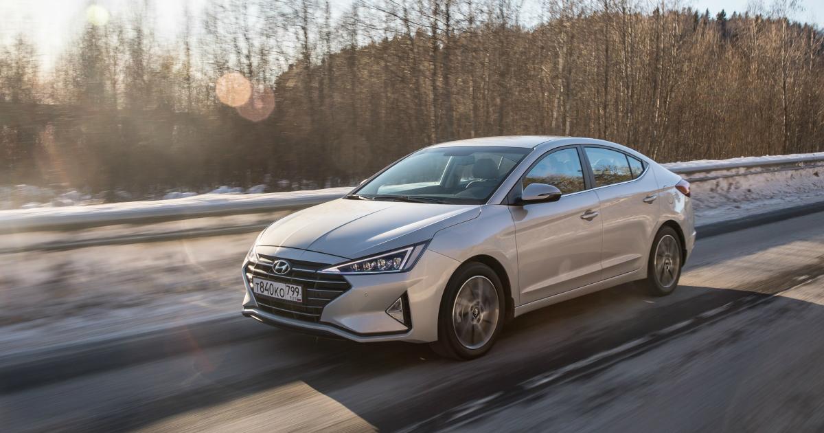 Обновленная Hyundai Elantra выходит на российский рынок