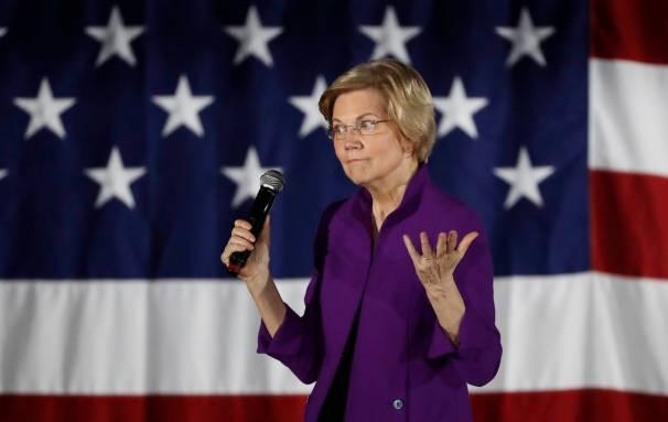 Photo of Elizabeth Warren's plans to break up tech giants get tepid response from San Francisco