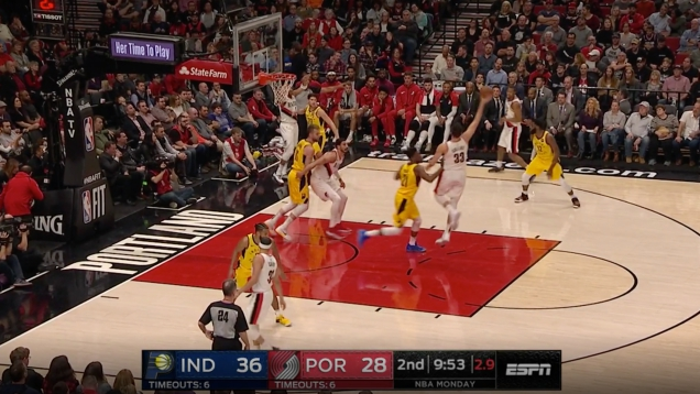 Photo of Here's A Cool Play The Trail Blazers Use To Ambush Unsuspecting Opponents