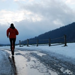 On Wintry Runs, Finding a Room of My Own