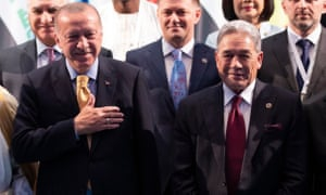 Photo of Erdoğan praises New Zealand PM after row over mosque attacks