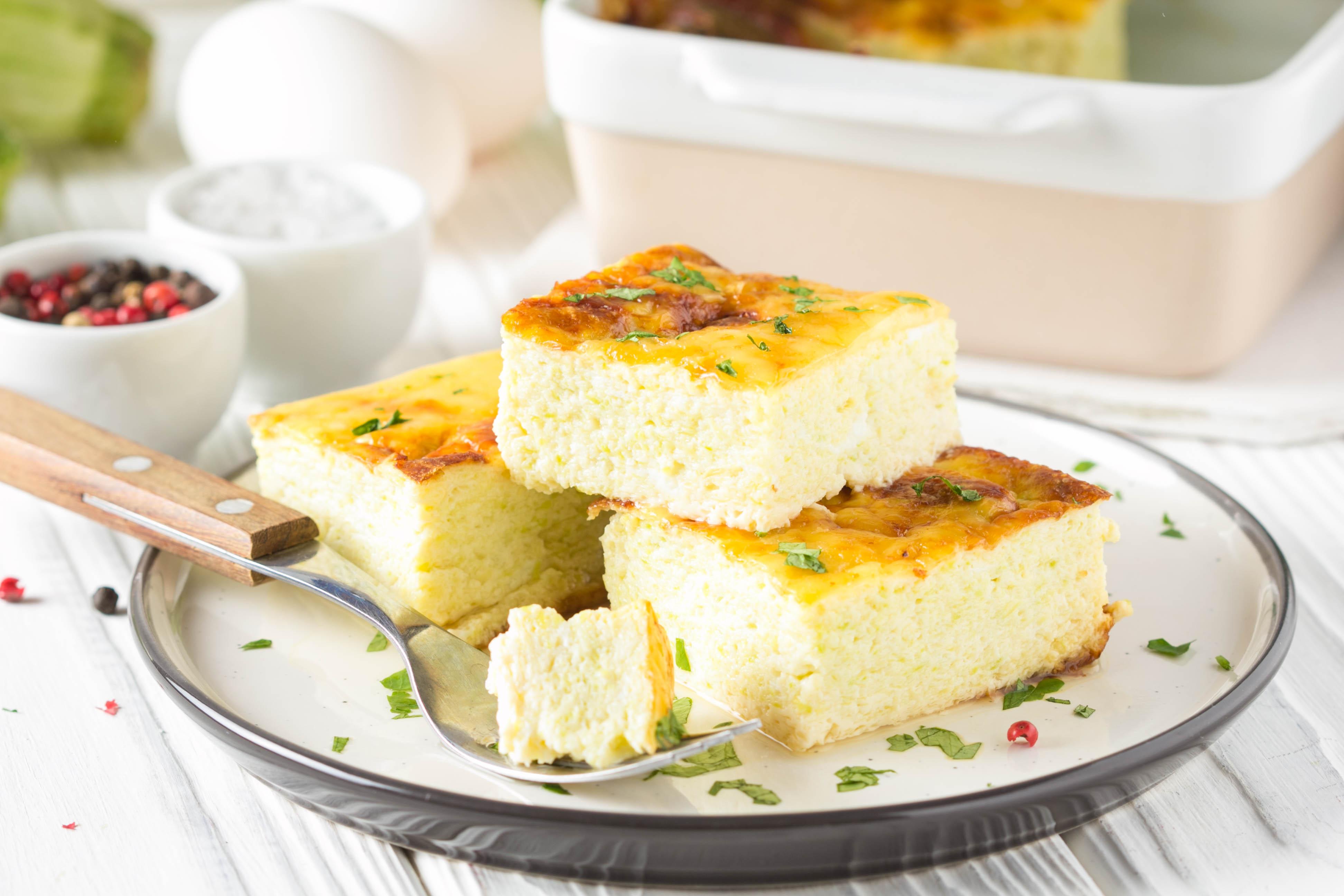 Омлет с сыром как в детском саду