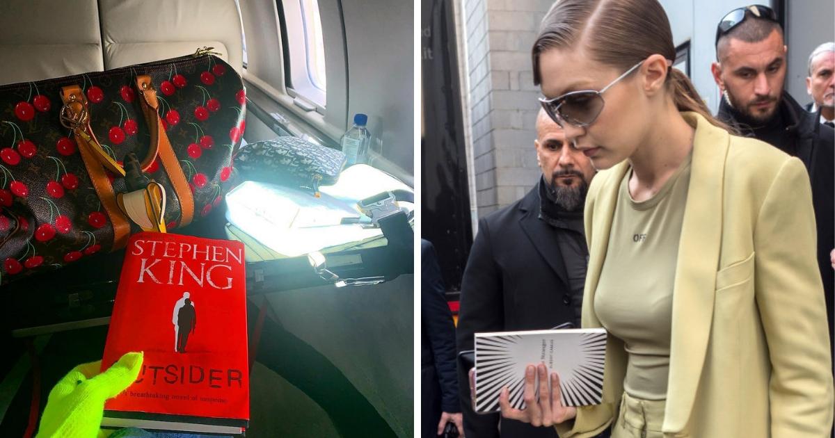 Книга - лучший друг: супермодели используют книги как модный аксессуар