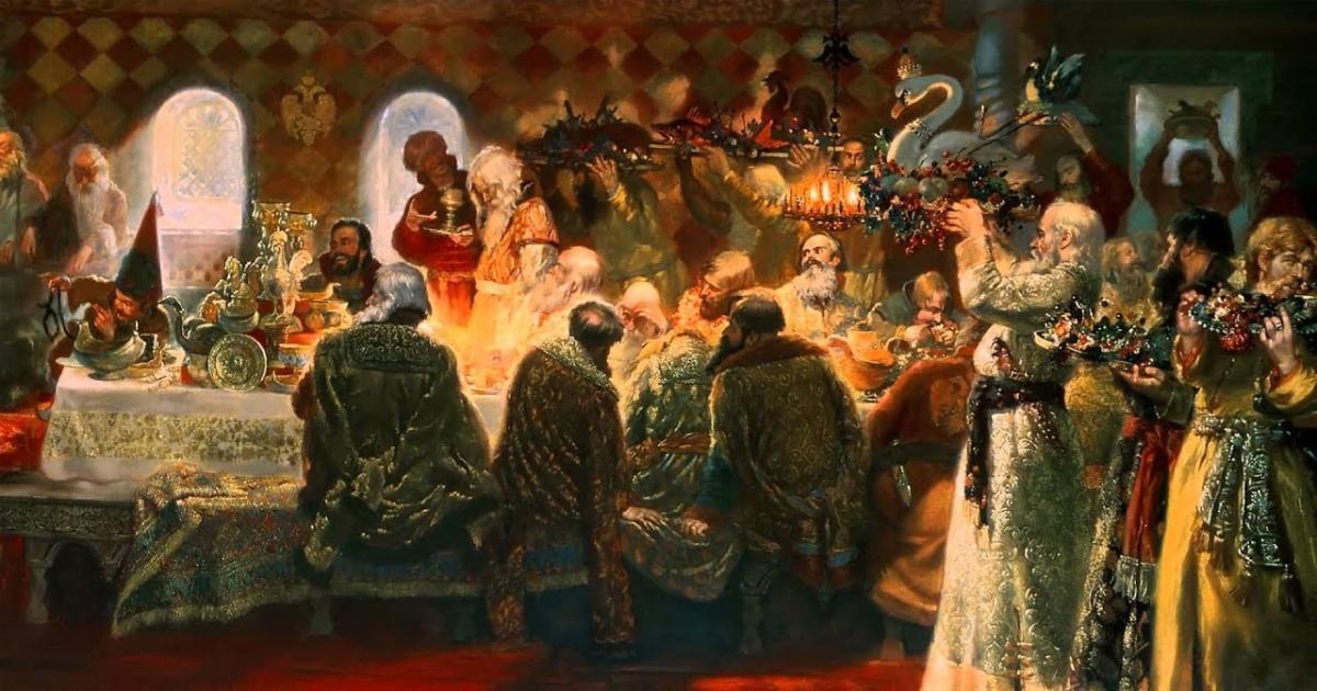 «Где стол был яств, там гроб стоит». Что значит яства и как писать это слово