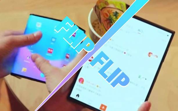 Photo of Cool demo: Watch Xiaomi's foldable phone fold over twice