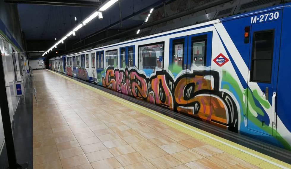Photo of Siete detenidos por hacer 13 grafitis en el metro de Madrid