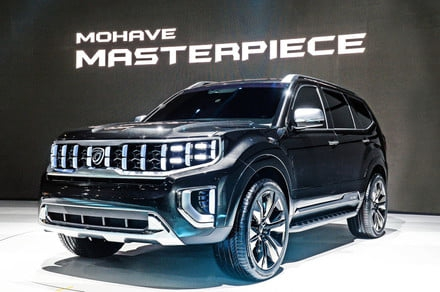 Photo of Kia's latest SUV concept sports a grille worthy of Hannibal Lecter