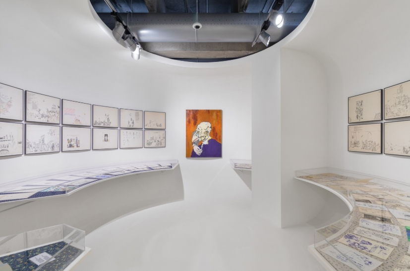 "Фото Выставка Павла Пепперштейна ""Человек как рамка для ландшафта"""