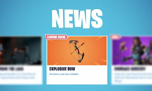Photo of Fortnite Boom Bow weapon is official: Everything we know so far