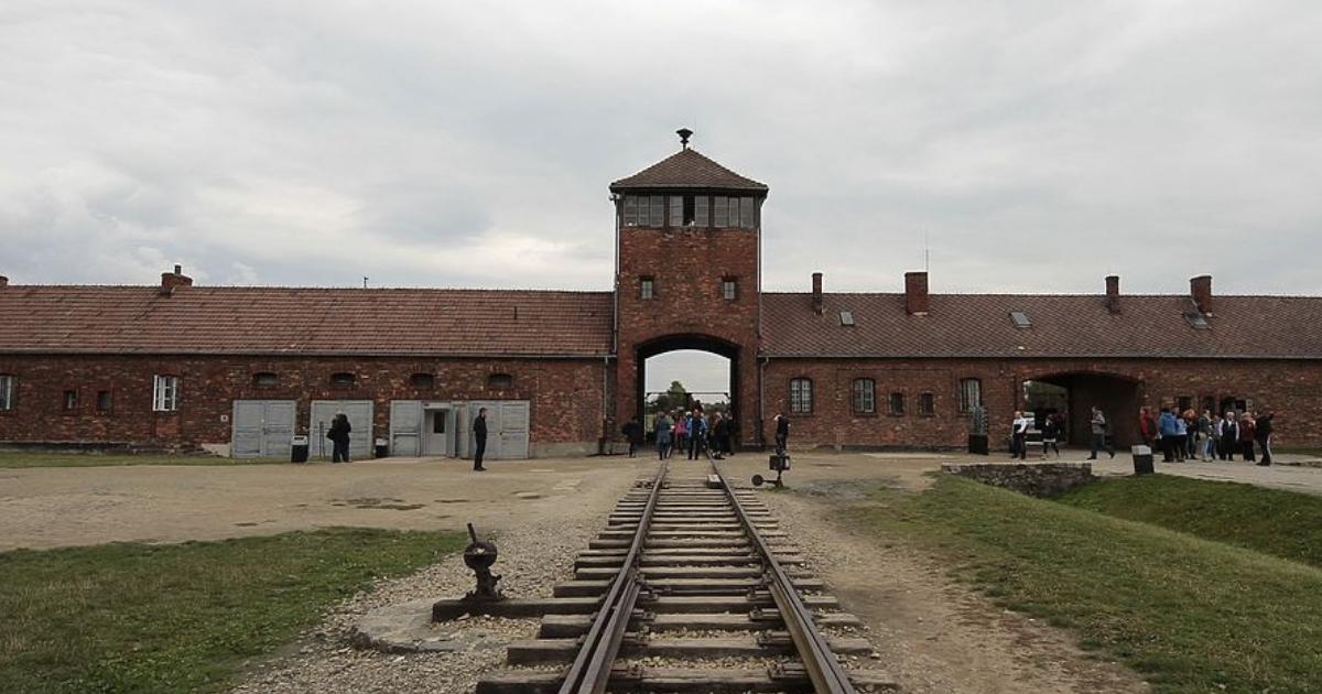 Американский турист попытался украсть экспонат из музея Освенцима