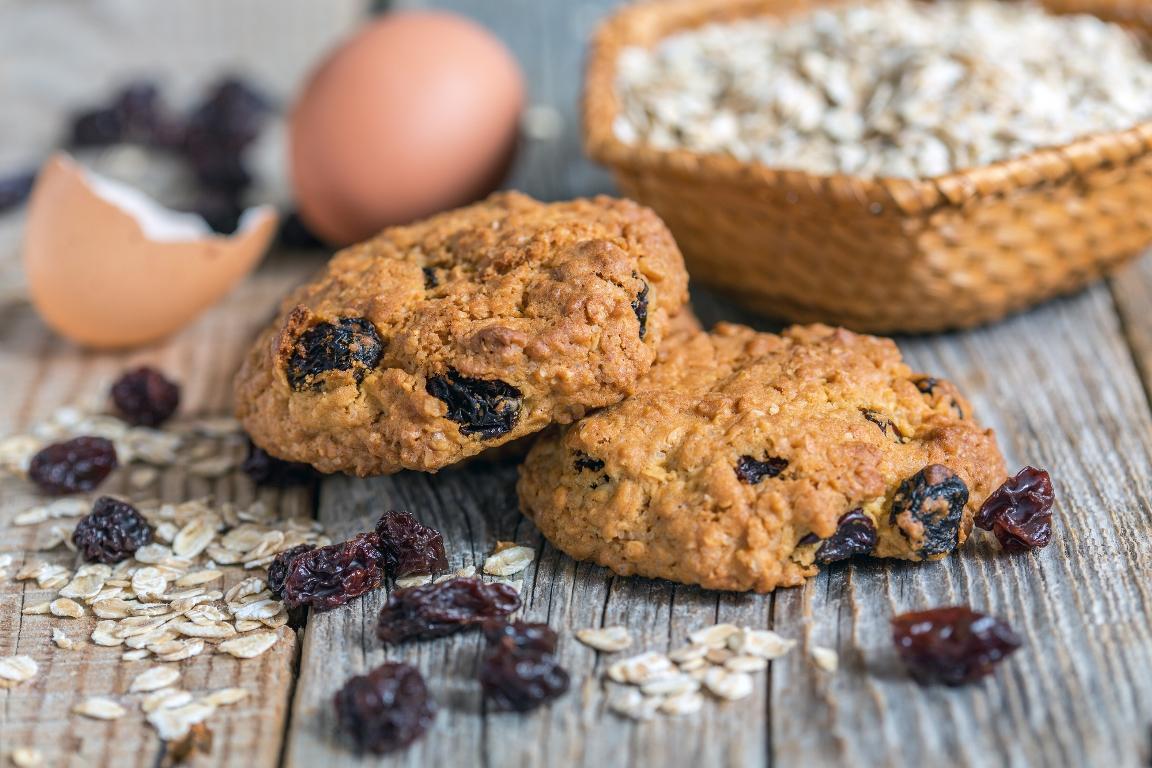 Вкусный рецепт домашнего овсяного печенья