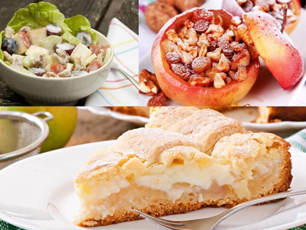3 удачных рецепта с яблоками