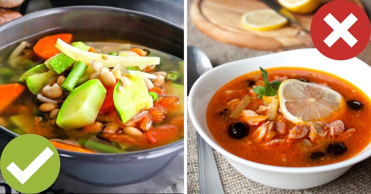 Фото Эксперты назвали самый полезный и самый вредный суп в России
