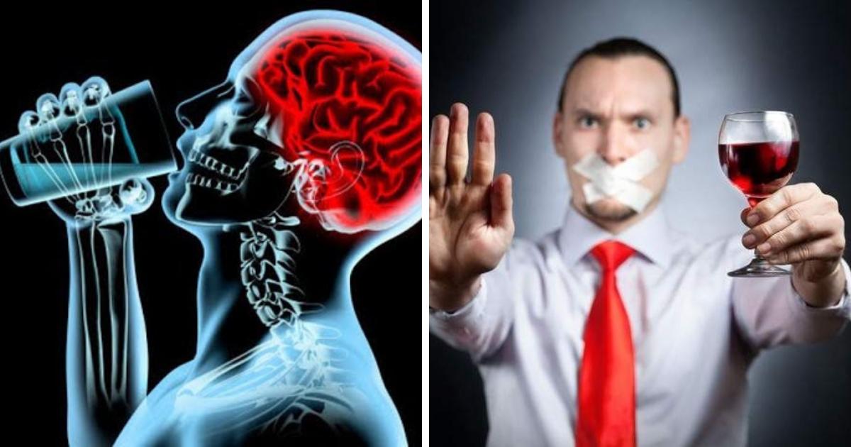 Фото Продолжает разрушение: алкоголь вредит мозгу, даже если вы перестали употреблять