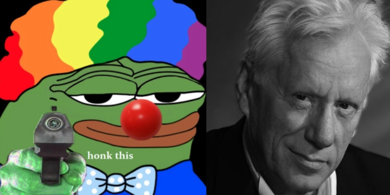 Photo of Honk Honk clown drama ends with James Woods posting New Zealand shooting meme
