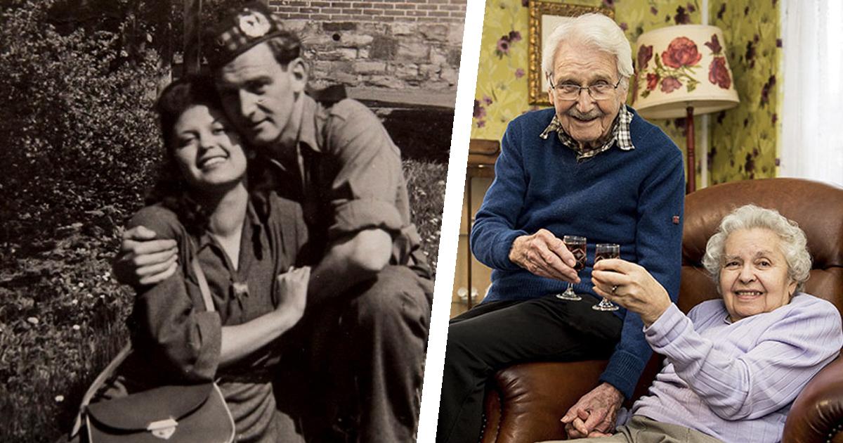 Фото Истина в любви: жертва холокоста и спасший ее солдат прожили 71 год вместе