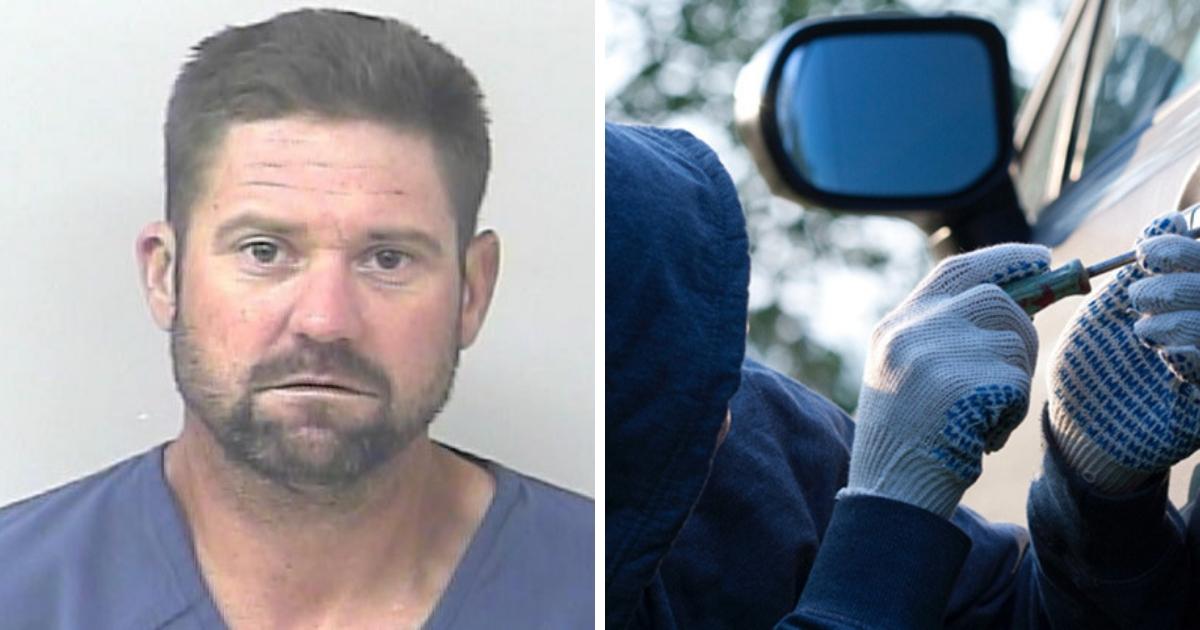 Снова за решетку: автоугонщик попал в тюрьму после 15 минут на свободе
