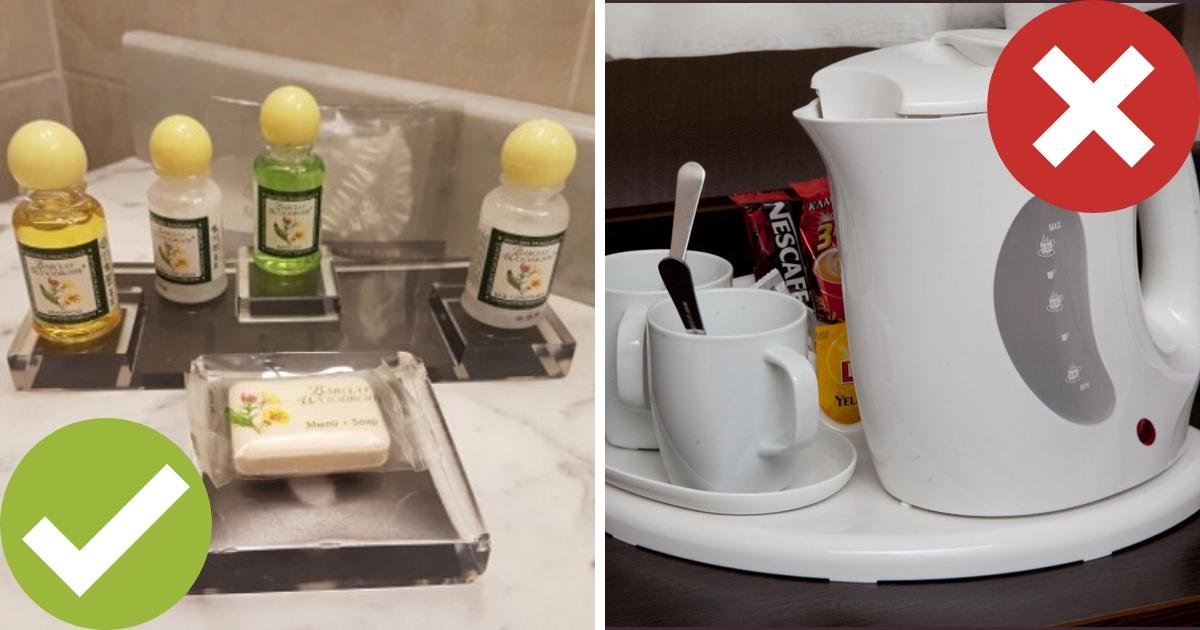 Что не приколочено: какие вещи можно забирать из отелей, а какие нет