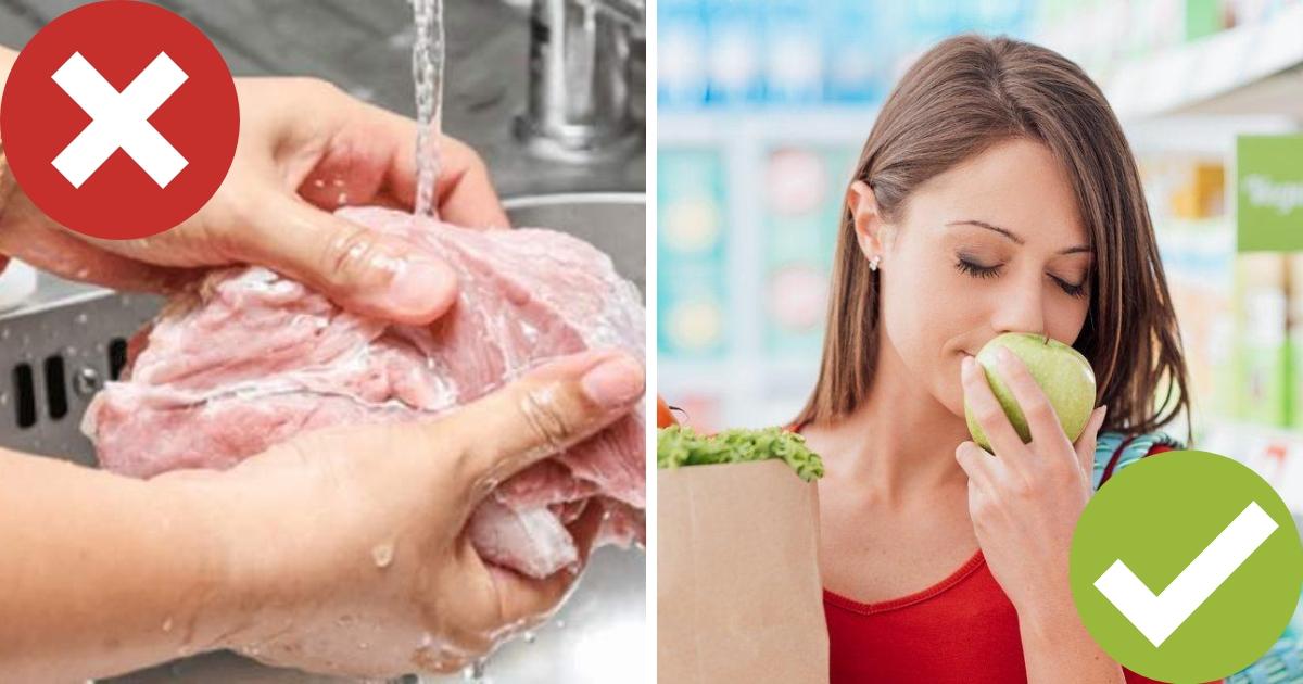 Ошибки в приготовлении еды, которые вредят нашему здоровью