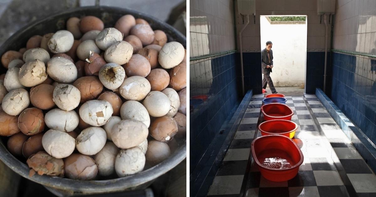 Китайский деликатес: яйца, сваренные в моче мальчиков