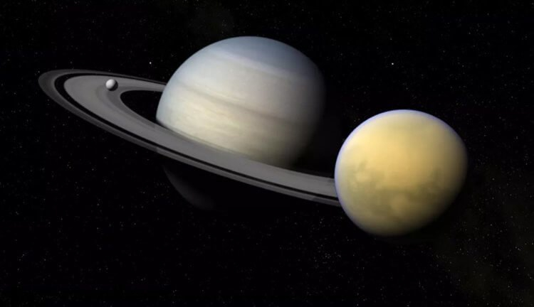 "Фото Аппарат ""Кассини"" доказал наличие глубоких тысячелетних озер на спутнике Сатурна"