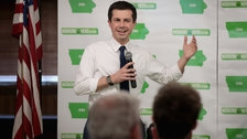Photo of Pete Buttigieg Shuts Down Anti-Gay Hecklers At Iowa Campaign Stops
