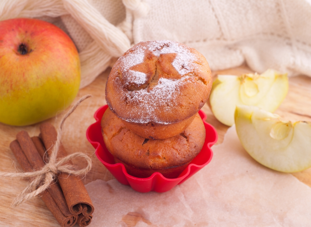 Вкуснейшие яблочные кексы
