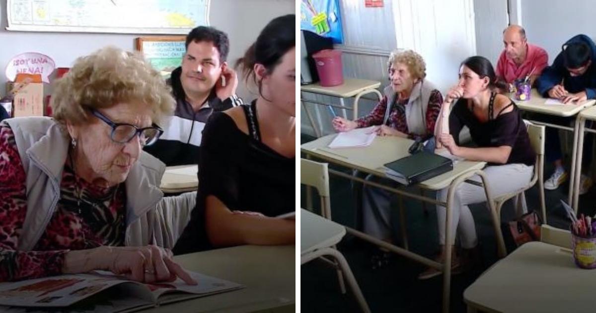 Снова в первый класс: 98-летняя аргентинка решила закончить школу